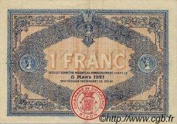 1 Franc FRANCE régionalisme et divers DIJON 1916 JP.053.09 TTB à SUP