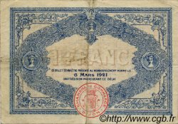 1 Franc FRANCE régionalisme et divers DIJON 1916 JP.053.09 TB