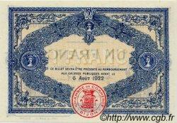 1 Franc FRANCE régionalisme et divers Dijon 1917 JP.053.14 TTB à SUP