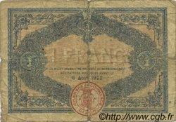 1 Franc FRANCE régionalisme et divers DIJON 1917 JP.053.14 TB