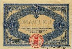 1 Franc FRANCE régionalisme et divers Dijon 1917 JP.053.15 TTB à SUP