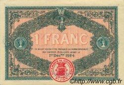 1 Franc FRANCE régionalisme et divers DIJON 1919 JP.053.20 SPL à NEUF