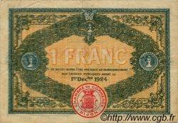 1 Franc FRANCE régionalisme et divers DIJON 1919 JP.053.20 TTB à SUP