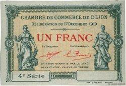 1 Franc FRANCE régionalisme et divers DIJON 1919 JP.053.21 SPL à NEUF