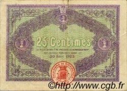 25 Centimes FRANCE régionalisme et divers DIJON 1920 JP.053.23 TB