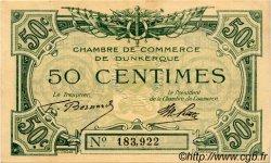 50 Centimes FRANCE régionalisme et divers DUNKERQUE 1918 JP.054.01 TTB à SUP