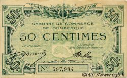 50 Centimes FRANCE regionalism and various Dunkerque 1918 JP.054.01 F