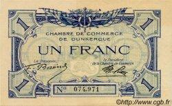 1 Franc FRANCE régionalisme et divers DUNKERQUE 1918 JP.054.05 SPL à NEUF