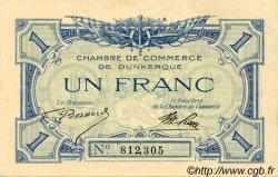 1 Franc FRANCE régionalisme et divers DUNKERQUE 1918 JP.054.05 TTB à SUP