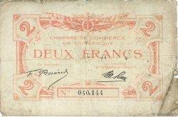 2 Francs FRANCE régionalisme et divers DUNKERQUE 1918 JP.054.09 TB