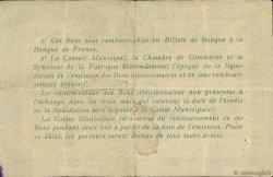 50 Centimes FRANCE régionalisme et divers ELBEUF 1918 JP.055.04 TB