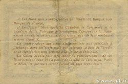 1 Franc FRANCE régionalisme et divers ELBEUF 1918 JP.055.05 TB