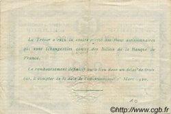 50 Centimes FRANCE régionalisme et divers Elbeuf 1920 JP.055.15 TTB à SUP