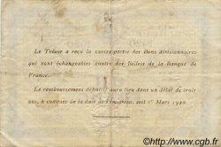 1 Franc FRANCE régionalisme et divers ELBEUF 1920 JP.055.17 TB