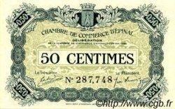 50 Centimes FRANCE régionalisme et divers ÉPINAL 1920 JP.056.01 SPL à NEUF