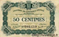 50 Centimes FRANCE régionalisme et divers ÉPINAL 1920 JP.056.01 TTB à SUP