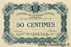 50 Centimes FRANCE régionalisme et divers ÉPINAL 1920 JP.056.09 SPL à NEUF