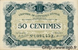 50 Centimes FRANCE regionalism and various Épinal 1920 JP.056.09 VF to XF