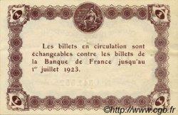 1 Franc FRANCE régionalisme et divers ÉPINAL 1920 JP.056.10 TTB à SUP
