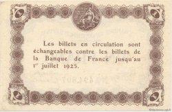 1 Franc FRANCE régionalisme et divers ÉPINAL 1921 JP.056.14 SPL à NEUF