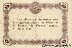 1 Franc FRANCE régionalisme et divers ÉPINAL 1921 JP.056.14 TTB à SUP