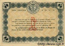 1 Franc FRANCE régionalisme et divers ÉVREUX 1915 JP.057.01 TTB à SUP
