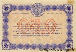 50 Centimes FRANCE régionalisme et divers ÉVREUX 1916 JP.057.08 TTB à SUP