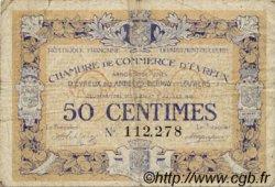 50 Centimes FRANCE régionalisme et divers Évreux 1916 JP.057.08 TB