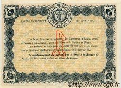 1 Franc FRANCE régionalisme et divers ÉVREUX 1917 JP.057.11 SPL à NEUF