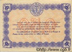 50 Centimes FRANCE régionalisme et divers ÉVREUX 1919 JP.057.13 TTB à SUP
