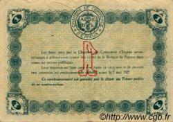 1 Franc FRANCE régionalisme et divers ÉVREUX 1920 JP.057.17 TTB à SUP