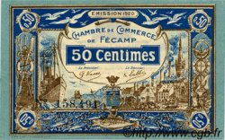 50 Centimes FRANCE régionalisme et divers Fécamp 1920 JP.058.01 SPL à NEUF