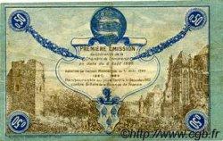 50 Centimes FRANCE régionalisme et divers FÉCAMP 1920 JP.058.01 TTB à SUP