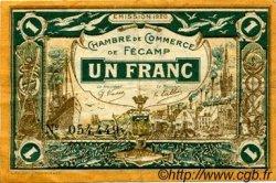 1 Franc FRANCE régionalisme et divers Fécamp 1920 JP.058.03 TTB à SUP