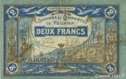 2 Francs FRANCE régionalisme et divers FÉCAMP 1920 JP.058.05 TB