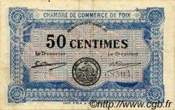 50 Centimes FRANCE régionalisme et divers Foix 1915 JP.059.01 TTB à SUP
