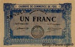 1 Franc FRANCE régionalisme et divers FOIX 1915 JP.059.04 SPL à NEUF