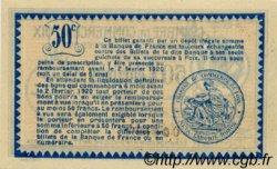 50 Centimes FRANCE régionalisme et divers FOIX 1915 JP.059.09 SPL à NEUF