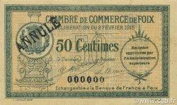 50 Centimes FRANCE régionalisme et divers FOIX 1915 JP.059.09 TTB à SUP