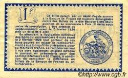 1 Franc FRANCE régionalisme et divers Foix 1915 JP.059.10 TTB à SUP