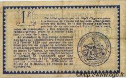 1 Franc FRANCE régionalisme et divers Foix 1915 JP.059.10 TB