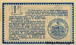 1 Franc FRANCE régionalisme et divers Foix 1915 JP.059.11 SPL à NEUF