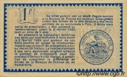1 Franc FRANCE régionalisme et divers Foix 1915 JP.059.11 TTB à SUP