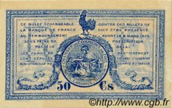 50 Centimes FRANCE régionalisme et divers Foix 1920 JP.059.14 TTB à SUP