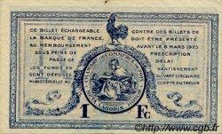 1 Franc FRANCE régionalisme et divers FOIX 1920 JP.059.15 TTB à SUP