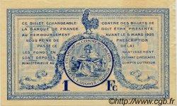 1 Franc FRANCE régionalisme et divers FOIX 1920 JP.059.16