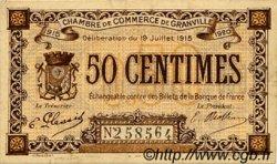 50 Centimes FRANCE régionalisme et divers GRANVILLE 1915 JP.060.01 TTB à SUP