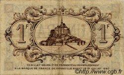 1 Franc FRANCE régionalisme et divers Granville 1915 JP.060.04 TB