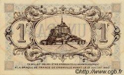 1 Franc FRANCE régionalisme et divers Granville 1915 JP.060.05 SPL à NEUF