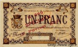 1 Franc FRANCE régionalisme et divers Granville 1915 JP.060.06 SPL à NEUF